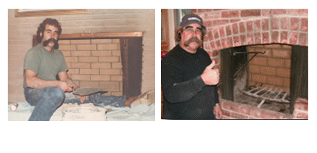 Bob Dias about 1.5 years after being wounded in Vietnam and Bob 40 years later
